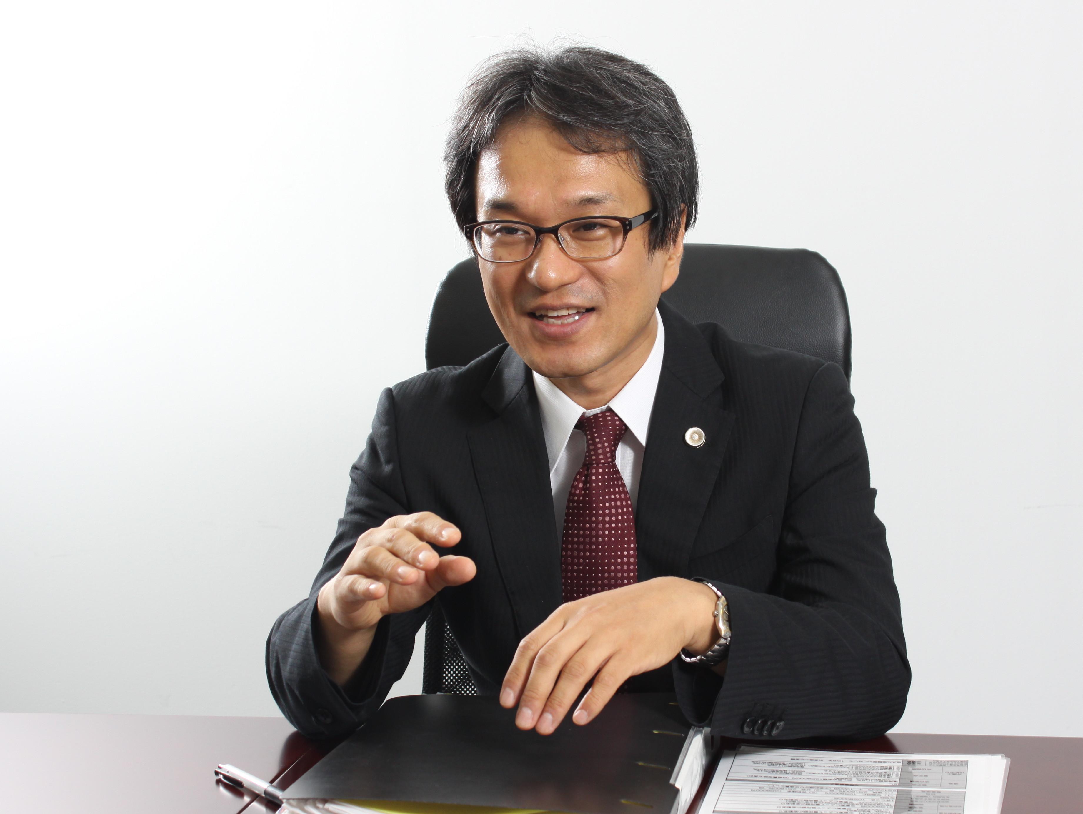 八王子支店長・第二東京弁護士会、田頭博文の写真