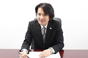渋谷支店長・第二東京弁護士会、古賀望の写真