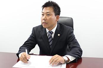 蒲田支店長・第二東京弁護士会所属、堤信一郎の写真