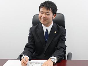 上野支店長・第二東京弁護士会、細井瑛皓の写真