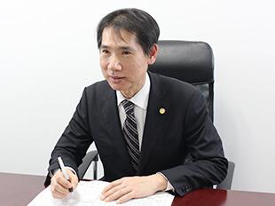 流山支店長・千葉県弁護士会、安藤伸介の写真